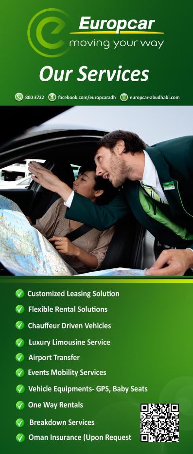 Europcar Abu Dhabi Europcar Services Your Way
